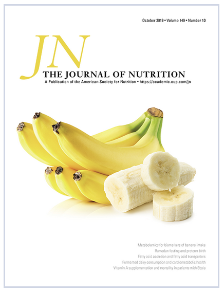 Journal of Nutrition Cover